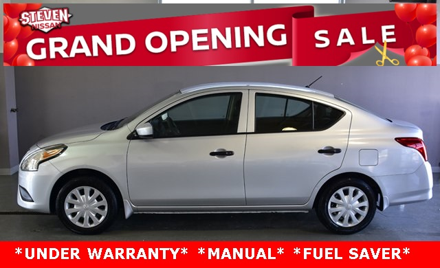 pre-owned 2017 nissan versa 1.6 s 4d sedan in harrisonburg #pn0348a