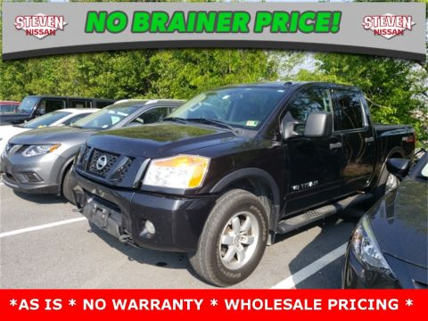 Pre-Owned 2012 Nissan Titan PRO