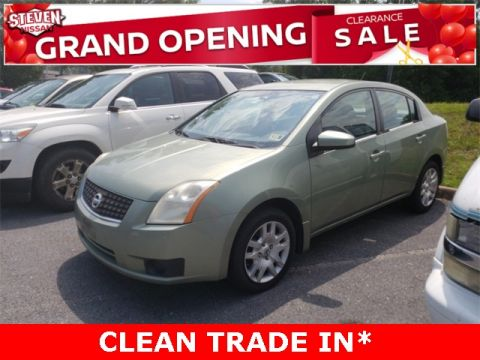 Pre-Owned 2007 Nissan Sentra 2.0 S FWD 4D Sedan