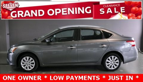 Pre-Owned 2015 Nissan Sentra S FWD 4D Sedan