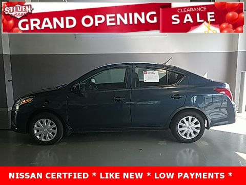 Certified Pre-Owned 2017 Nissan Versa 1.6 S FWD 4D Sedan