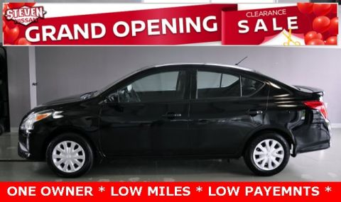 Pre-Owned 2017 Nissan Versa 1.6 S Plus FWD 4D Sedan